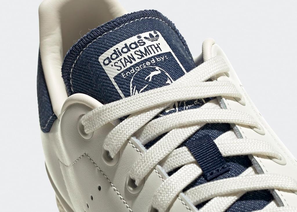 Nieuwe adidas Stan Smith is gebroken wit met denim op de tong en hak