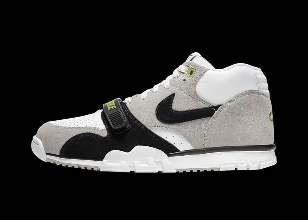 Op 3 oktober komt de Nike SB Air Trainer 1 Chlorophyll opnieuw uit