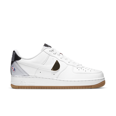 Nike Air Force 1 Low NBA White Grey Gum CT2298-100