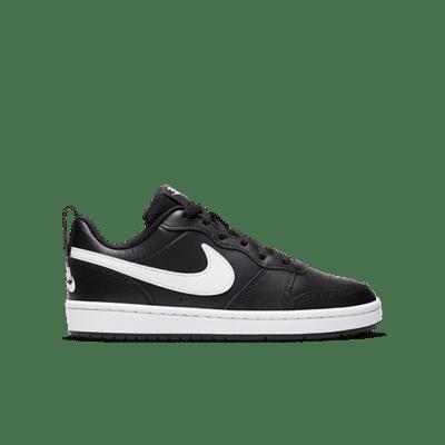 """Nike COURT BOROUGH LOW 2 (GS) """"BLACK"""" BQ5448-002"""