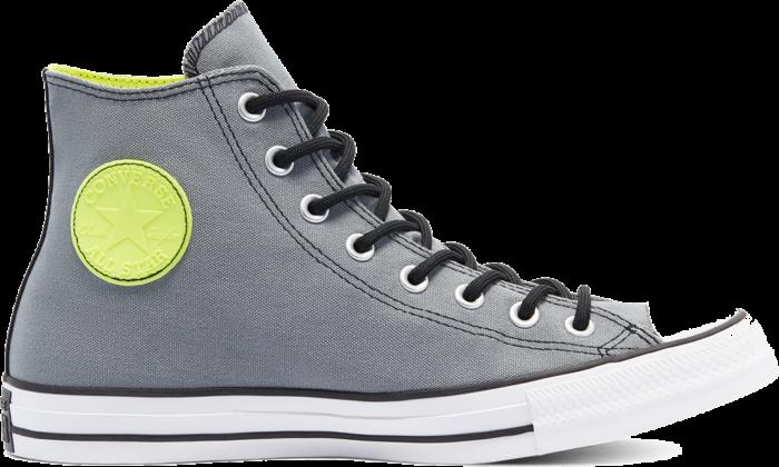 Converse GORE-TEX Chuck Taylor All Star High Top Limestone Grey/Lemon Venom 169589C