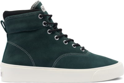 Converse Nubuck Skidgrip High Top Succulent Green/Black/Egret 169618C