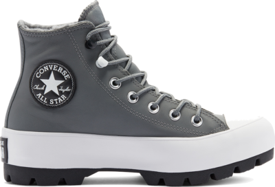 Converse Chuck Taylor All Star Lugged Winter High Top Limestone Grey/Black/White 569555C