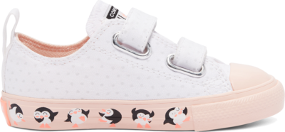 Converse Tundra Print Easy-On Chuck Taylor All Star Low Top White/Washed Coral/Black 769292C