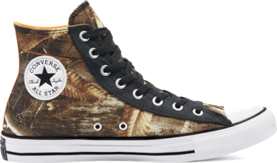 Converse REALTREE EDGE® Chuck Taylor All Star High Top Black/ White 169682C
