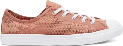 Converse Summer Getaway Chuck Taylor All Star Dainty Low Top Rose Gold/White/Silver 567695C
