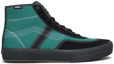 Vans Crockett High Quasi Skateboards Black VN0A4VHT2ID1