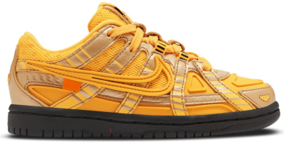 Nike Air Rubber Dunk Off-White University Gold (PS) CW7410-700
