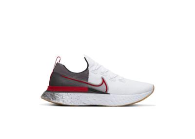 Nike React Infinity Run Flyknit White Light Brown CW5245-100