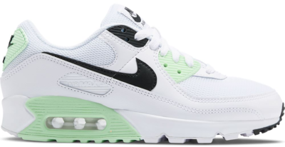 Nike Air Max 90 White Vapor Green Black (W) CT1039-101