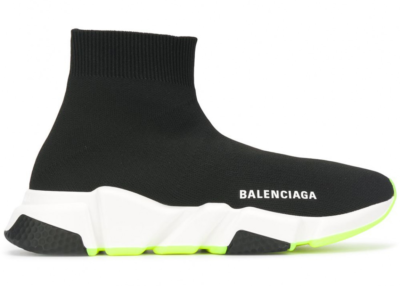 Balenciaga Speed Trainer Yellow Sole (W) 551185 W05G0 1000