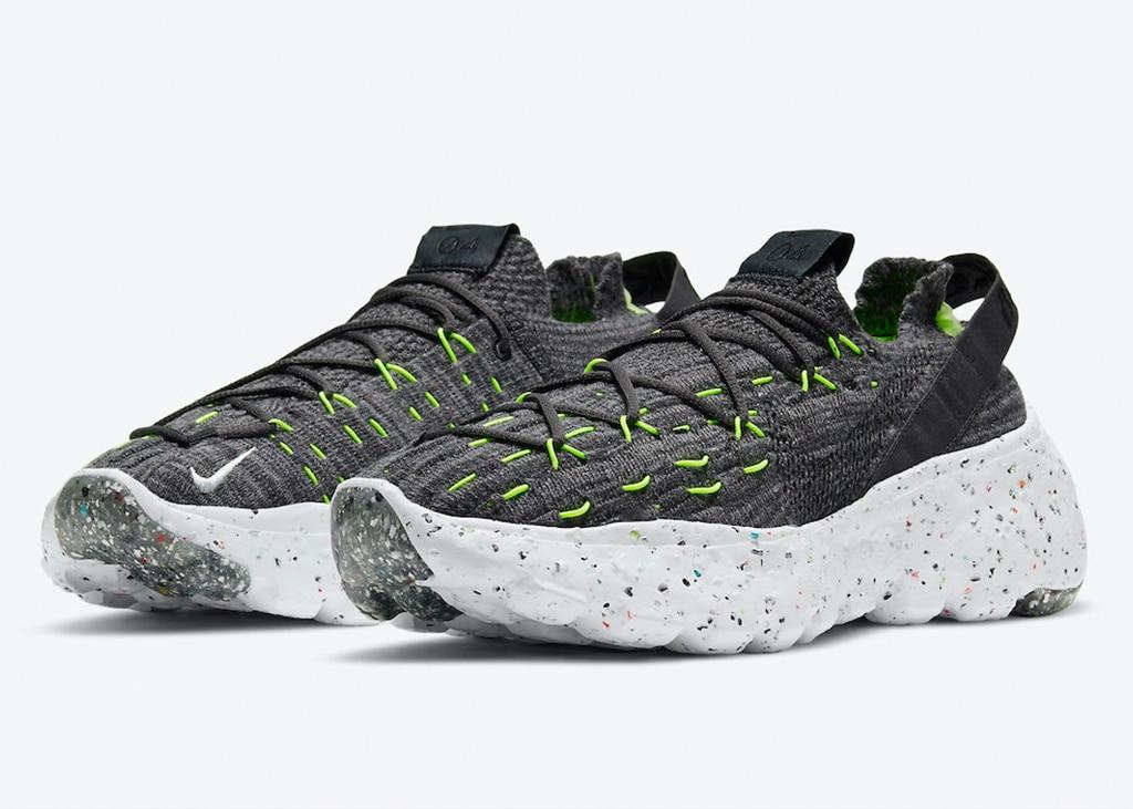 De Space Hippie 04 van Nike komt binnenkort uit in Black and Volt
