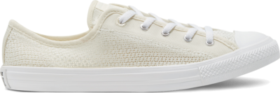 Converse Summer Getaway Chuck Taylor All Star Dainty Low Top Egret/White/Silver 567694C