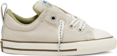 Converse Summer Canvas Chuck Taylor All Star Street Instapper voor peuters Pale Putty/Street Sage 767544C