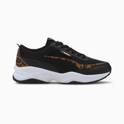 Puma Cilia Mode Leo sportschoenen voor Dames Goud / Zwart 373217_01