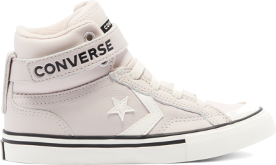 Converse Leather & Heathered Knit Pro Blaze Strap High Top voor kinderen Silt Red/Bright Coral/Egret 669317C