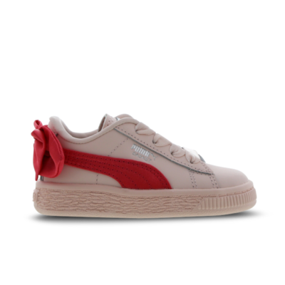 Puma Basket Bow Red 367323 02