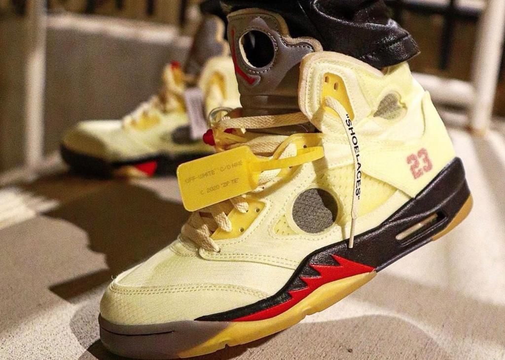 Komt er deze maand nóg een paar Air Jordan 5 x Off-White?