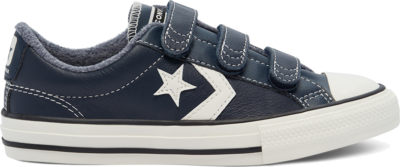 Converse Leather Easy-On Star Player Low Top Obsidian/Lakeside Blue/Egret 669321C