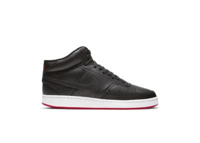 Nike Court Vision Mid Black University Red CD5466-005