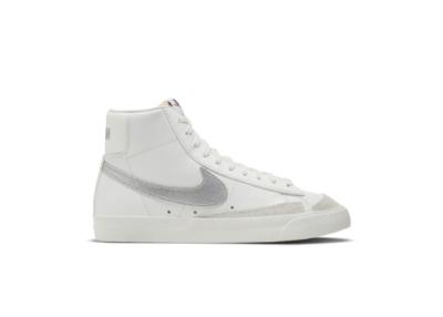 Nike Blazer Mid '77 Wmns Summit White/Metallic Silver white