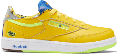 Reebok Minion Club C 85 Schoenen Primal Yellow / Humble Blue / Silver Metallic FX3353