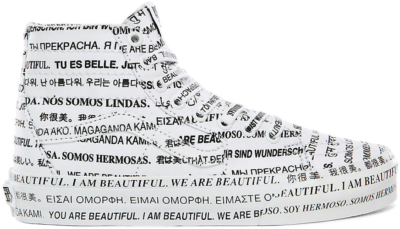 "Vans UA SK8-Hi Tapered ""We Are Beautiful"" VN0A4U162Q21M"