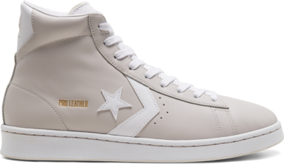 Converse Seasonal Color Pro Leather High Top Pale Putty/White/Pale Putty 168524C