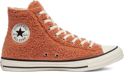 Converse Cozy Club Chuck Taylor All Star High Top Ginger Rose/Egret/Black 170016C