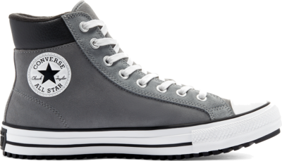 Converse CTAS PC BOOT HI BLACK/BLACK/BLACK Limestone Grey/White/Black 170039C