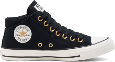 Converse Chuck Taylor All Star Madison Mid Black/White/Gold 568502C