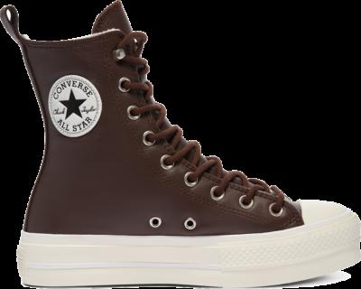 Converse Mountain Club Extra-High Platform Chuck Taylor All Star High Top Dark Root/Egret/Black 570027C