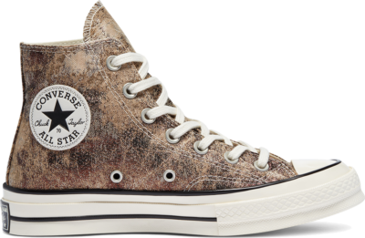 Converse Elevated Metallic Chuck 70 High Top Bronze/Egret/Black 570530C