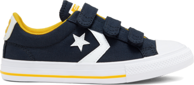 Converse Easy-On Star Player Low Top Obsidian/Amarillo/White 666952C