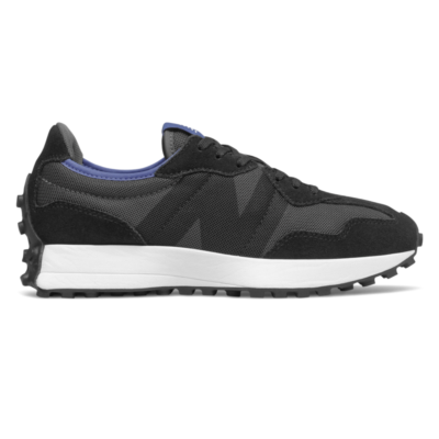 Damen New Balance 327 Black/Magnetic Blue WS327LAC