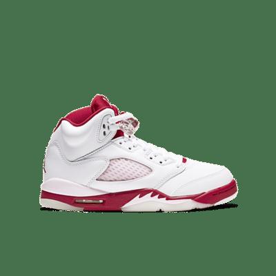 """Air Jordan 5 RETRO (GS) """"WHITE"""" 440892-106"""