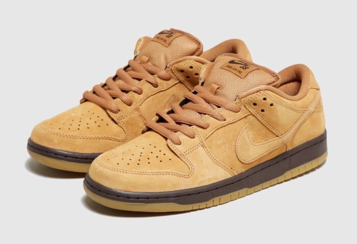 dunk low wheat mocha