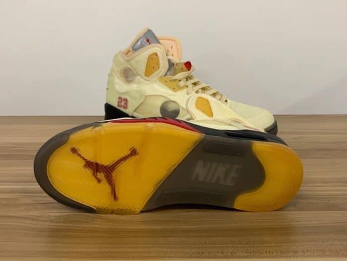 Virgil Abloh Nike Air 5 jordan