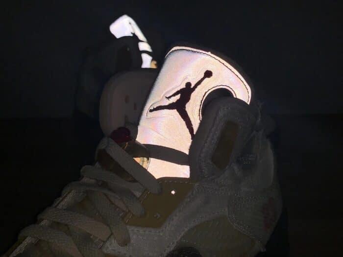 Air Jordan 5 off white nike