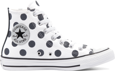 Converse Glitter Shine Chuck Taylor All Star High Top voor dames White/ Black 569383C