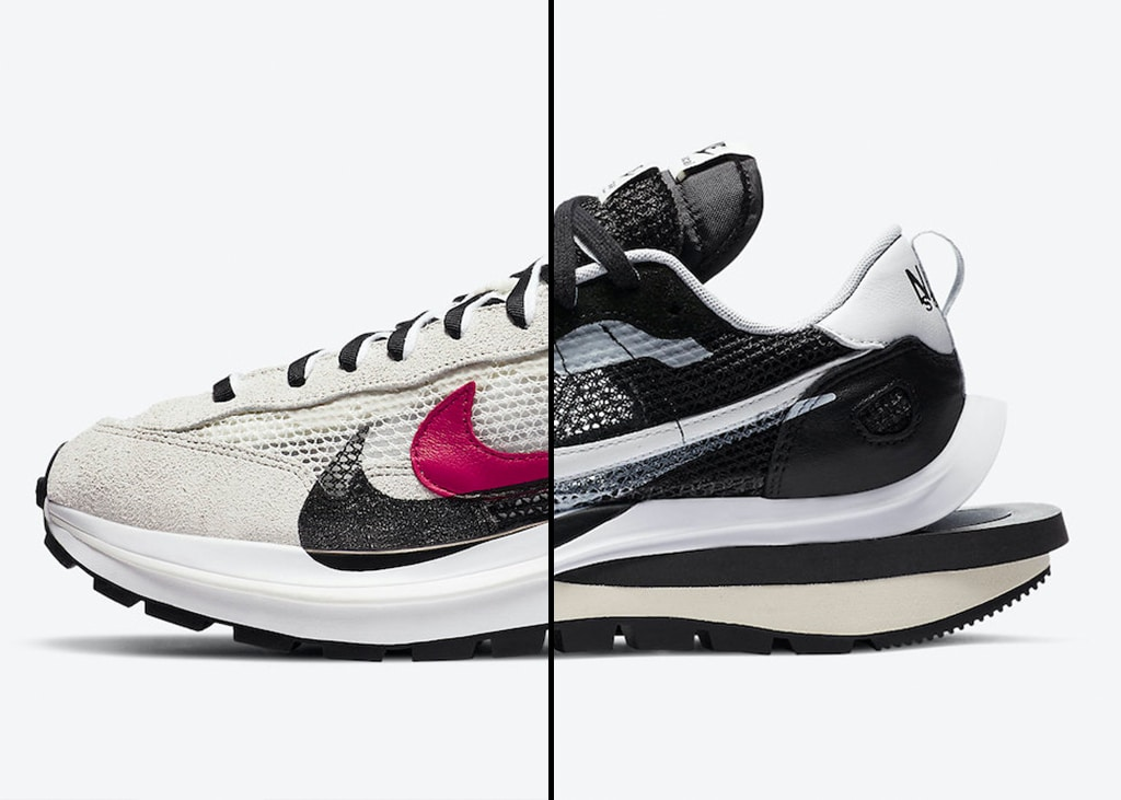 The collaboration continues: Nike x sacai VaporWaffle Black & Sail komt uit in november