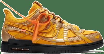 Nike Air Rubber Dunk Off-White University Gold CU6015-700