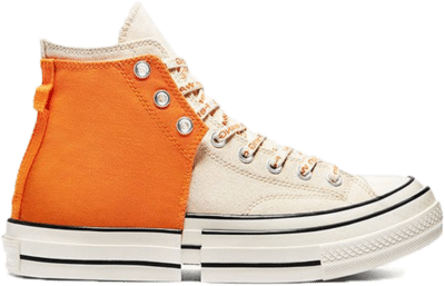 Converse Chuck Taylor All-Star 2-in-1 70s Hi Feng Chen Wang Orange Ivory 169840C