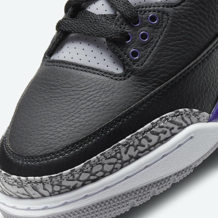 Nike Air Jordan 3 court purple