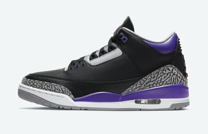 Court Purple black court Jordan
