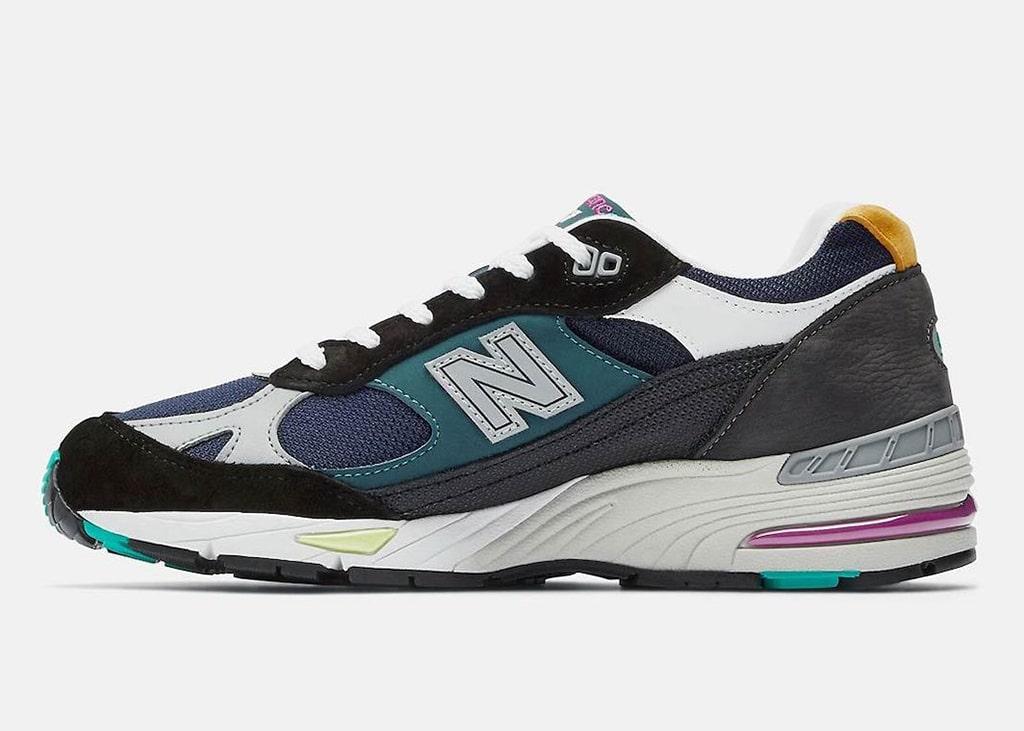 Materiaal en kleur: Alles in de mix bij de New Balance 991