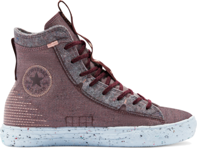 Chuck Taylor All Star Crater High Top rood/black currant/bright coral 169416C