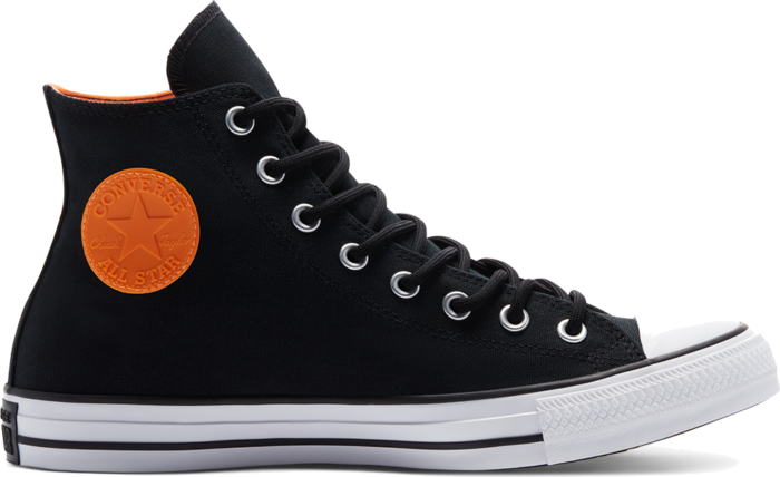 Converse Mountain Club Chuck Taylor All Star GTX High Top Black/White/Flash Orange 170044C