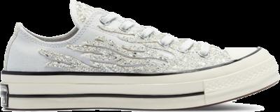 Converse Glitter Shine Chuck 70 Low Top Shoe Black 569538C