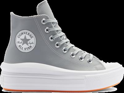 Converse Chuck Taylor All Star Move High Top Ash Stone/Flash Orange/White 569543C